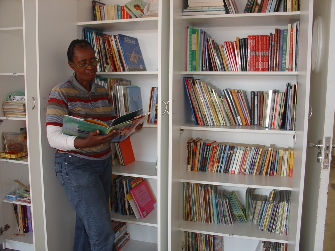Children's library in the township, cape Town, South Africa