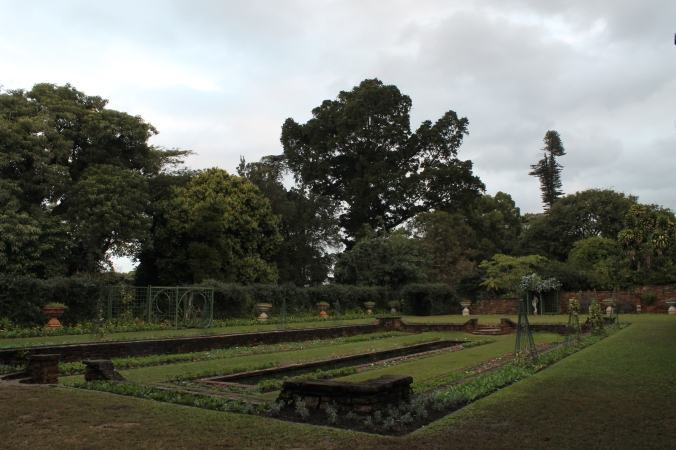 The sunken garden, Botanical Gardens, Durban, South Africa