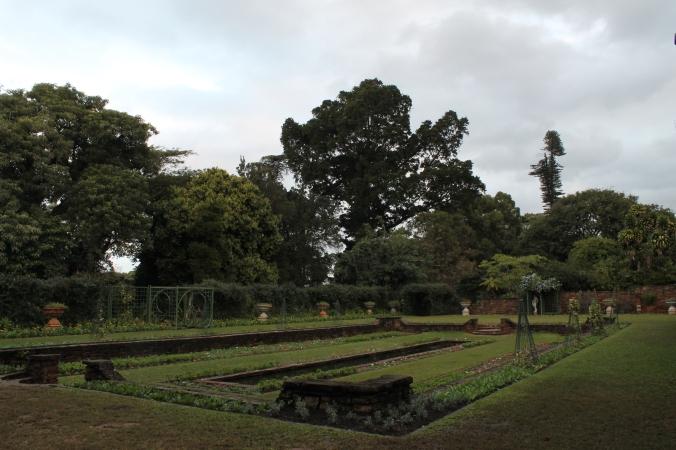 The sunken garden, Botanical Gardens, Durban, South Africa