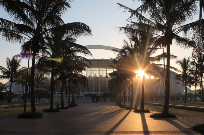 The Moses Mabhida Stadium, Durban, South Africa